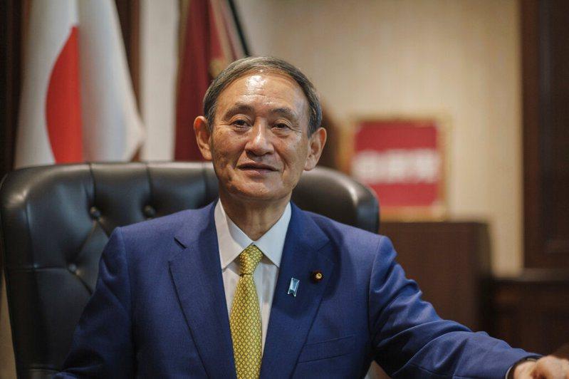 日本新任首相菅義偉。圖/取自美聯社