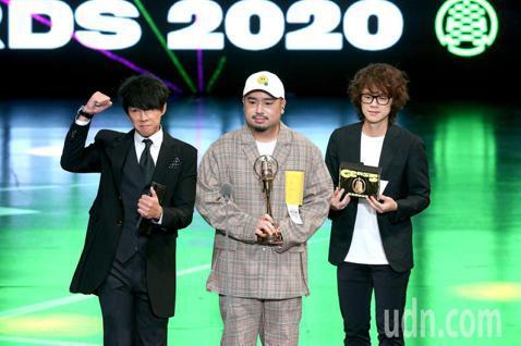 第55屆廣播金鐘獎頒獎典禮在國父紀念館舉行,夜貓DJ Dennis、阿達、HowHow陳孜昊擔任頒獎人。