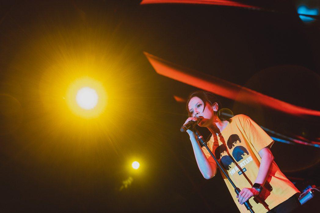 楊乃文今晚壓軸於新北綠生活音樂節開唱。圖/寬寬提供