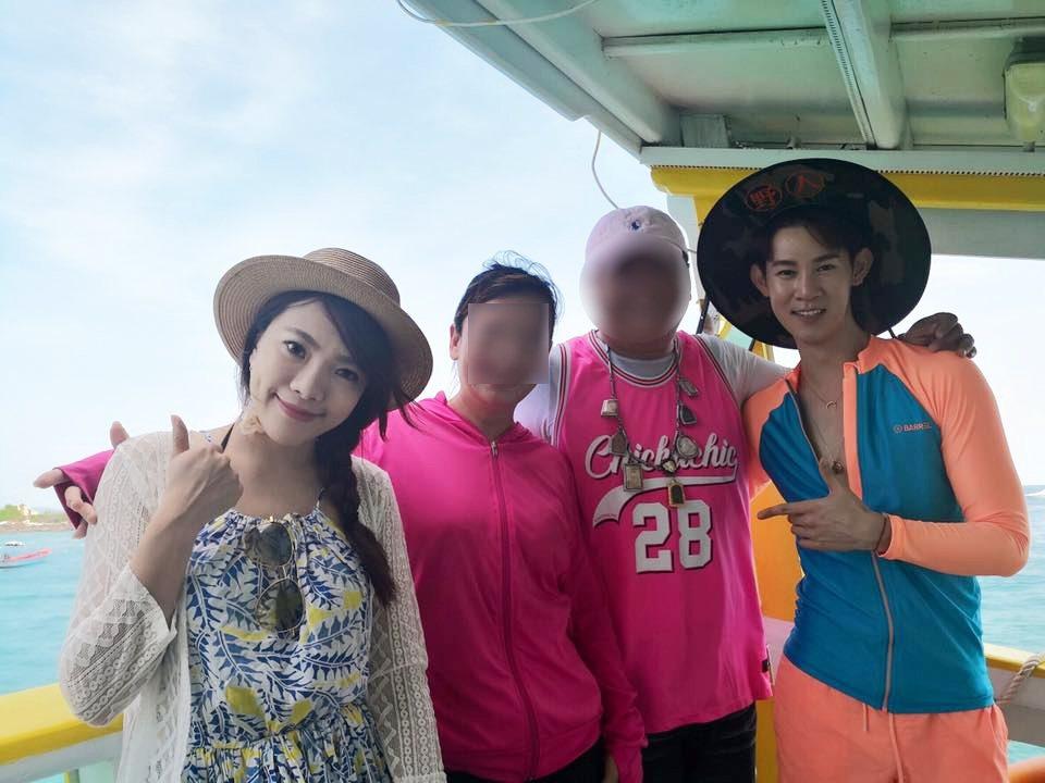 自由哥是藝人旅遊團的御用領隊,曾帶過夏和熙、小優等藝人。圖/擷自夏和熙臉書