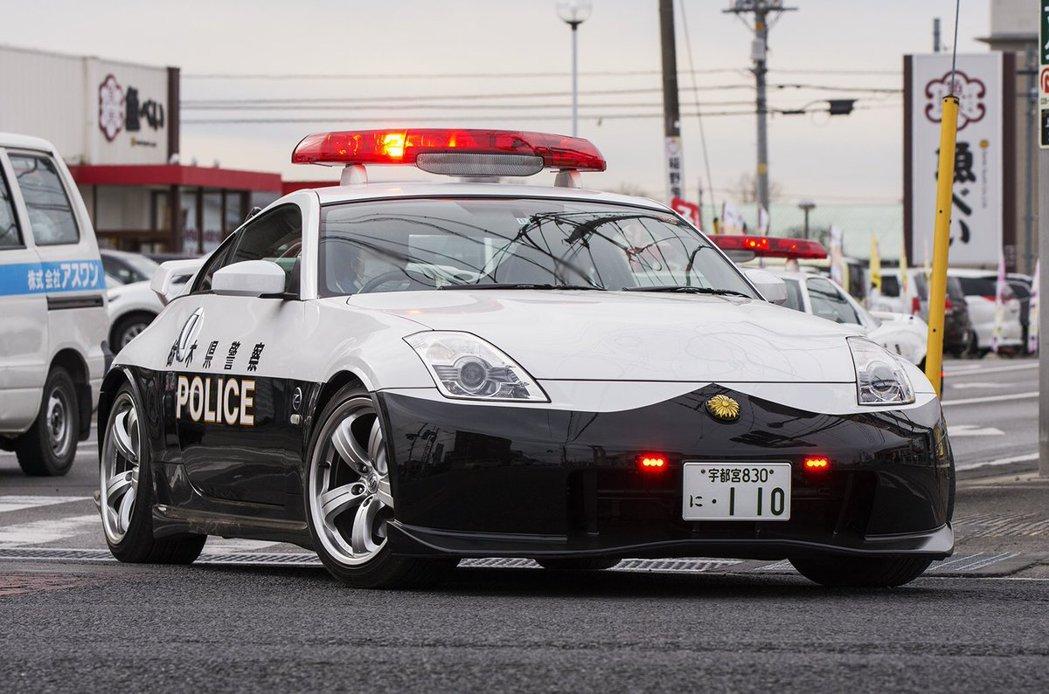 栃木縣警車Nissan Fairlady Z33 Nismo。 摘自網路