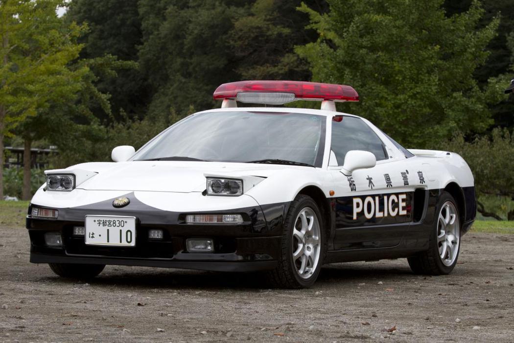 栃木縣警車Honda NSX。 摘自網路