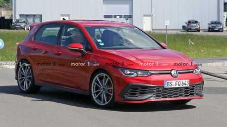 Volkswagen Golf GTI TCR無偽裝現身 地表最強GTI再度降臨!