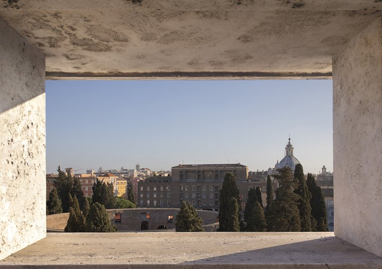 羅馬寶格麗飯店眺望出去的景色。圖/寶格麗提供