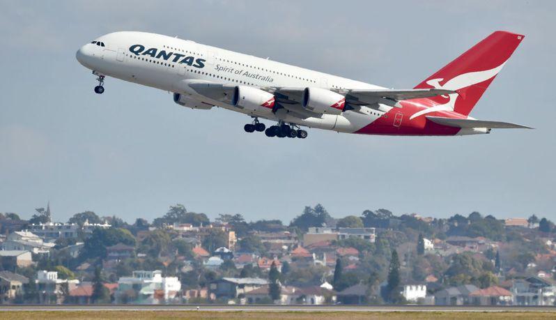 澳洲航空下個月將推出長達七小時的偽出國班機。法新社