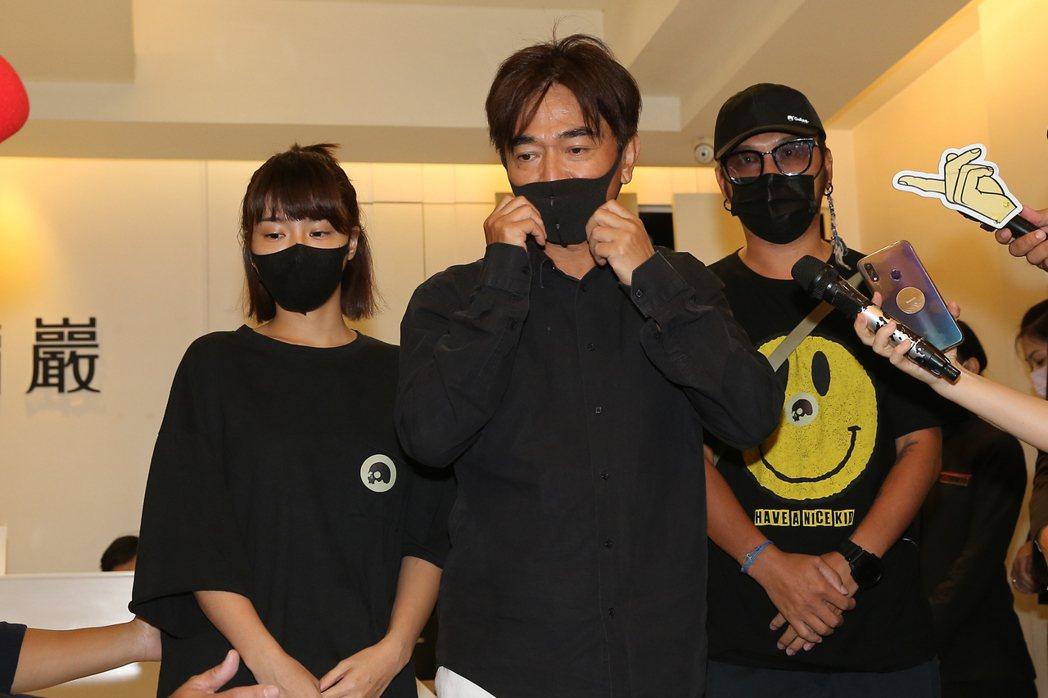 峮峮、吳宗憲、Kid。記者季相儒攝影
