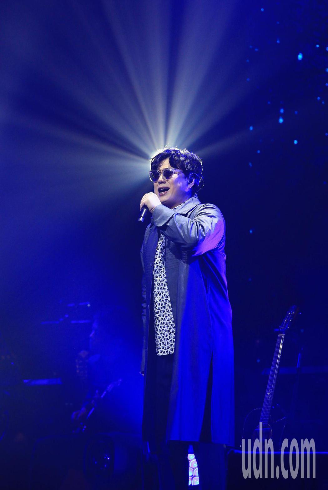 歌手蕭煌奇今天舉辦公益慶生演唱會。記者潘俊宏/攝影