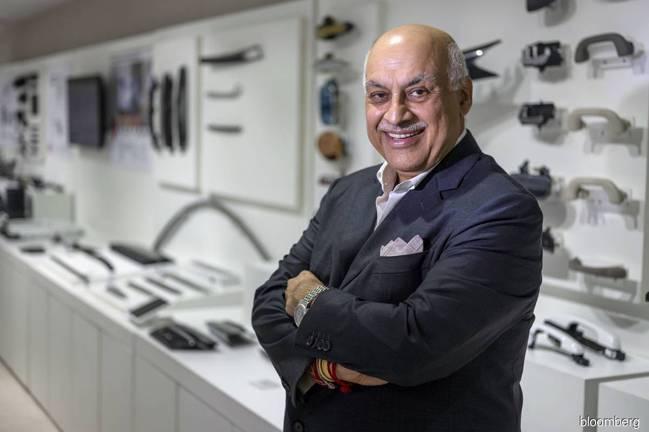 印度汽車零件供應商Motherson Sumi Systems(MSSL)董事長...