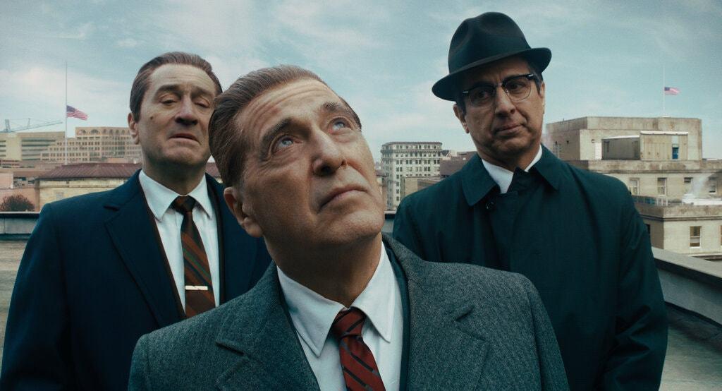 電影《愛爾蘭人》劇照。 圖/IMDb