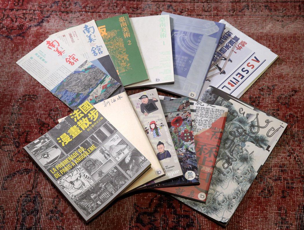 江家華連年下來以自由工作者的身分參與各類型刊物的內容編採。 圖/林澔一攝影