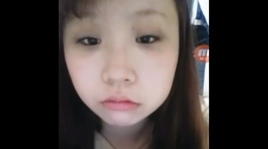趙秀珍整容前的照片。圖/YouTube@조두팔