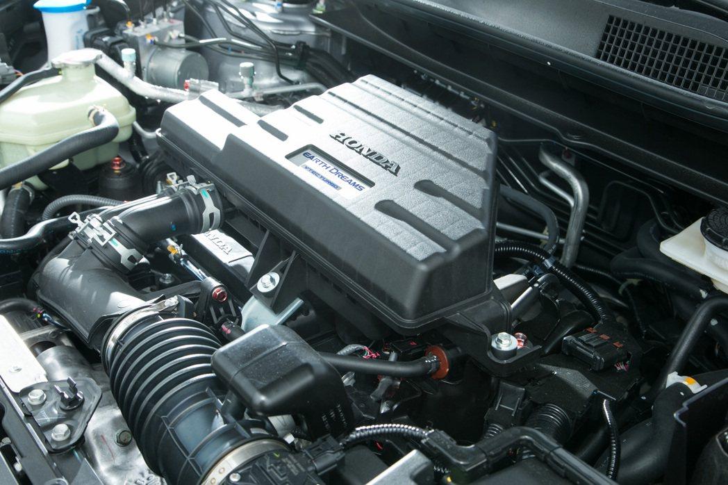 小排量大馬力的1.5L缸內直噴渦輪增壓引擎。 記者陳立凱/攝影