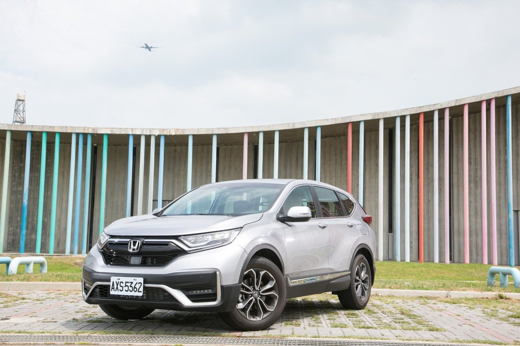 Honda CR-V。 記者陳立凱/攝影