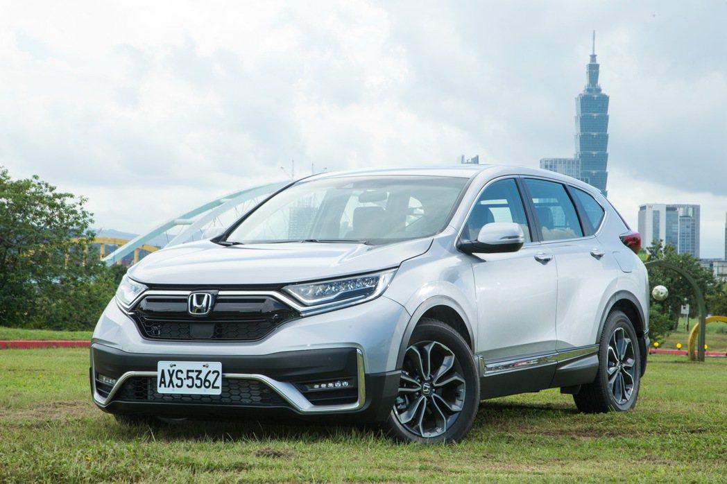 Honda CR-V是過去幾年台灣休旅市場代表車款。 記者陳立凱/攝影