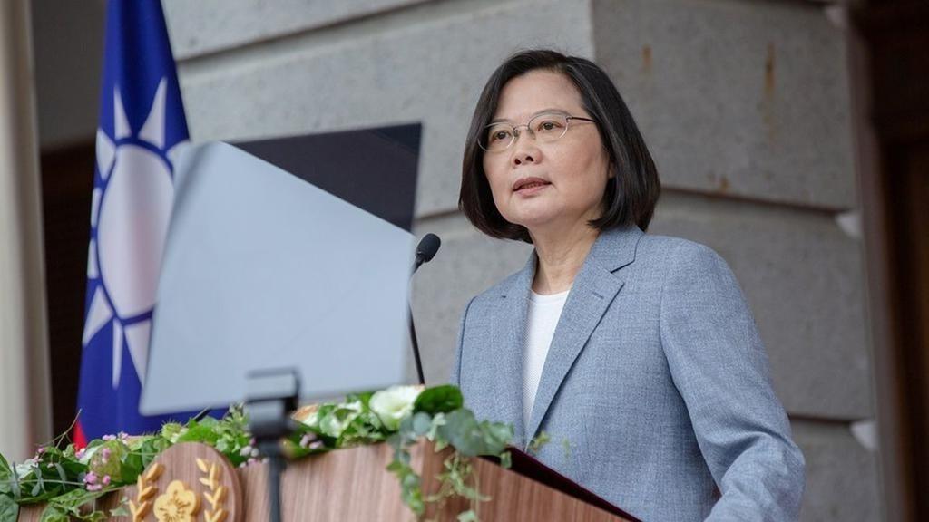 台灣總統蔡英文。 (路透)