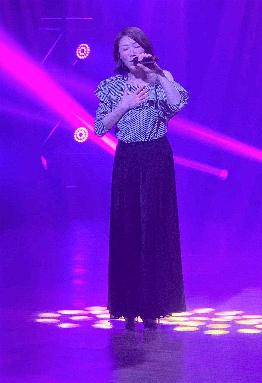 李翊君首度參加線上演唱會。圖/艾迪昇傳播提供