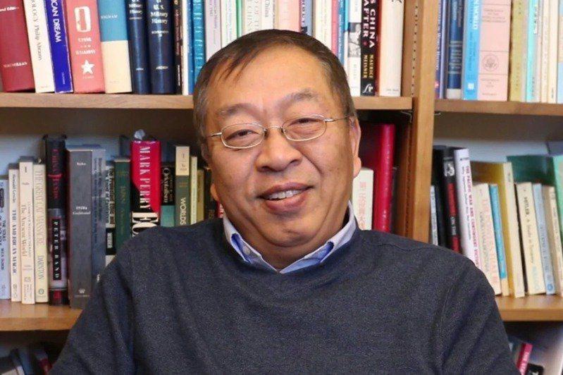 美國國務卿龐培歐首席中國顧問余茂春。(取自環球網)