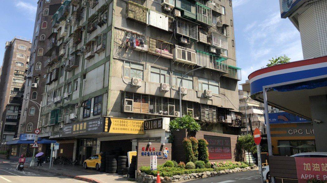 百年中山大廈。圖/台灣房屋提供