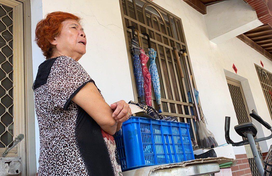 對蘇震清遭起訴,消息傳回屏東老家,蘇震清高齡80歲的老母親說,對事情真的不太了解...