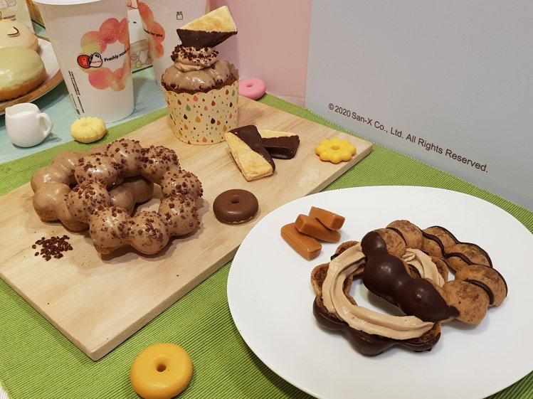 以阿薩姆奶茶為基底推出的4款甜點,售價42元起。記者陳睿中/攝影