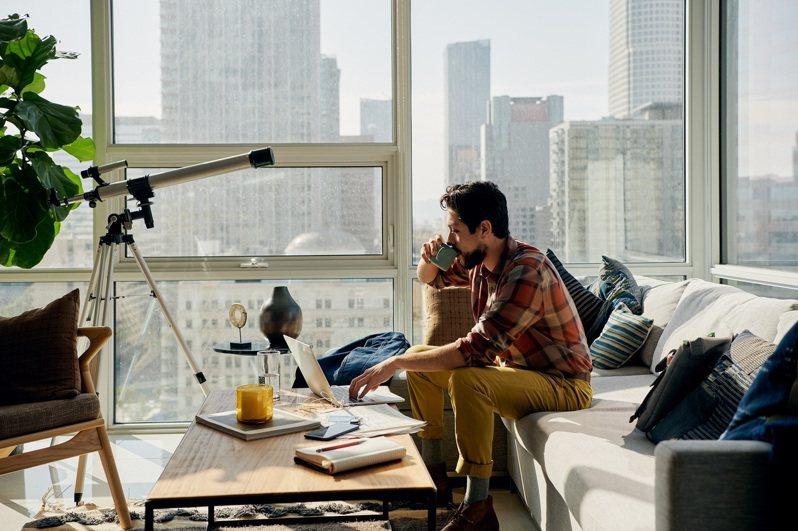 全世界都是我的辦公室,Airbnb成數位遊牧民族「駐紮」首選。圖/Airbnb提供