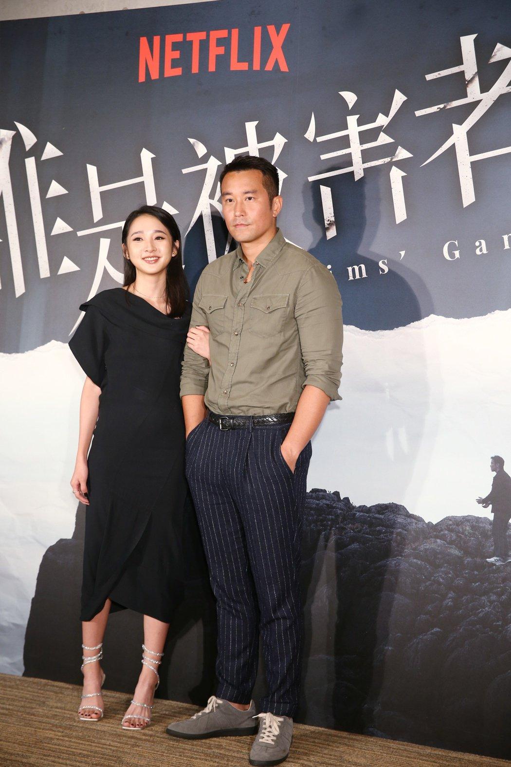 張孝全(右)、李沐劇中飾演父女。記者曾原信/攝影