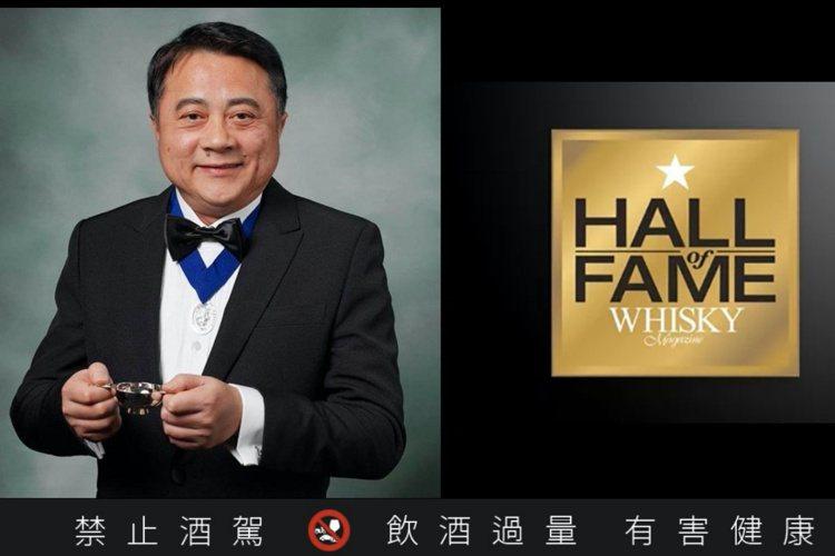 尚格酒業董事長奚大寧2020年獲選進入WWA威士忌名人堂。圖/尚格酒業提供。提醒...