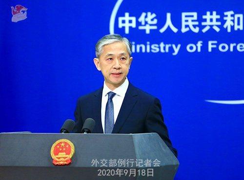 陸外交部發言人汪文斌21日證實,中印兩國第六輪軍長級會談正在進行中。(圖/取自新浪網)