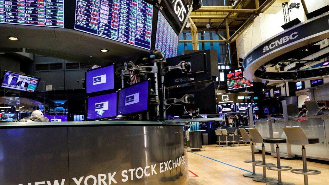 在多重利空打擊下,美股道瓊工業指數早盤大跌逾600點。 路透