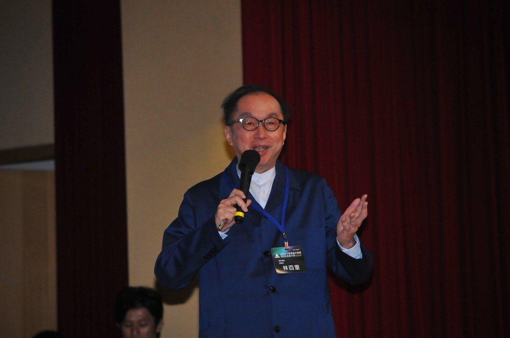 廣達董事長林百里  記者吳凱中╱攝影