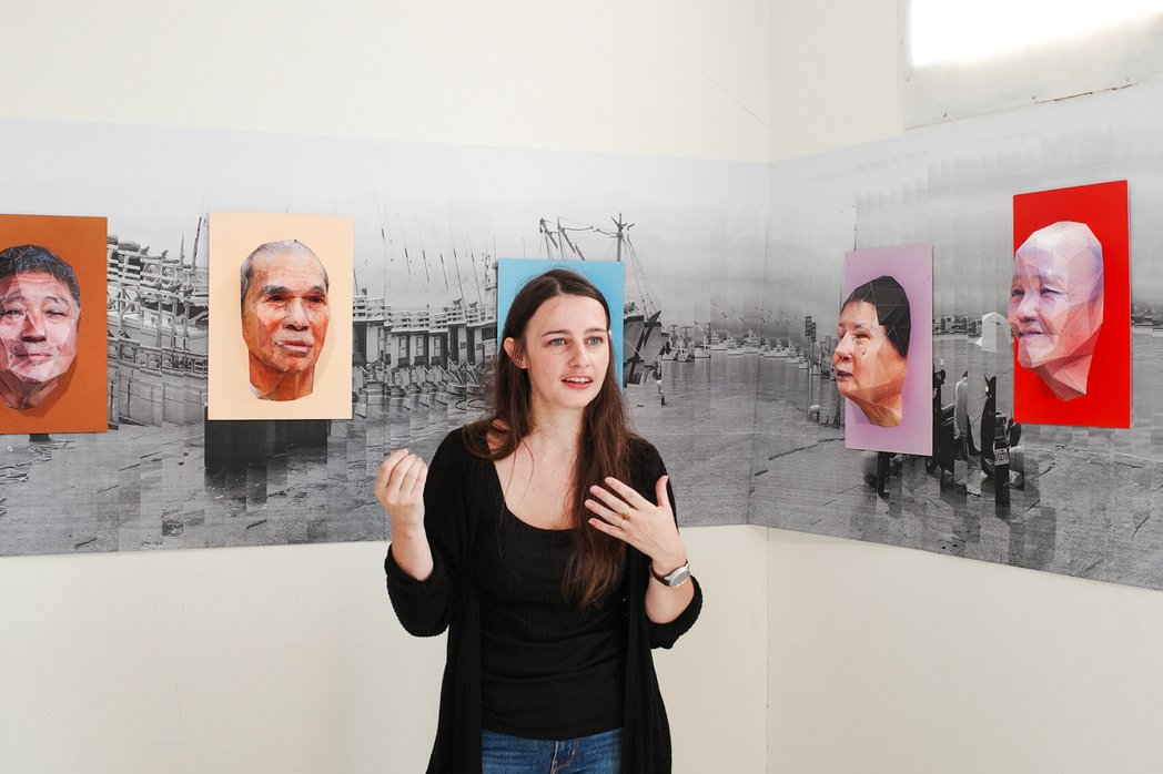 法籍藝術家 Margot Guillemot 走入正濱里,與在地居民「交陪」創作...