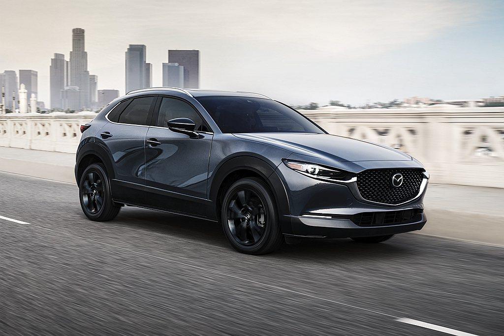 美規Mazda CX-30追加2.5L Turbo動力。 圖/Mazda提供