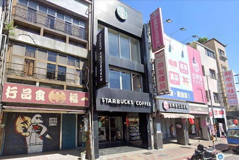 靠近士林夜市的星巴克士林店,將於9/27正式歇業。圖/Google Map街景圖
