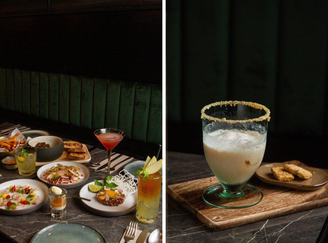 瑪黑餐酒與Trio三重奏合作,選用P&T柏林選茶設計出10餘款酒感飽滿、均衡清爽...