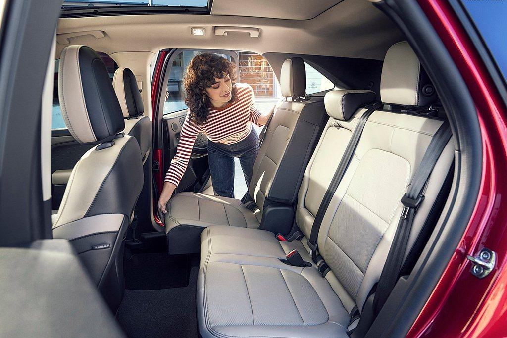延續Ford Kuga的Ford C2 Platform模組化底盤平台,長軸版本...