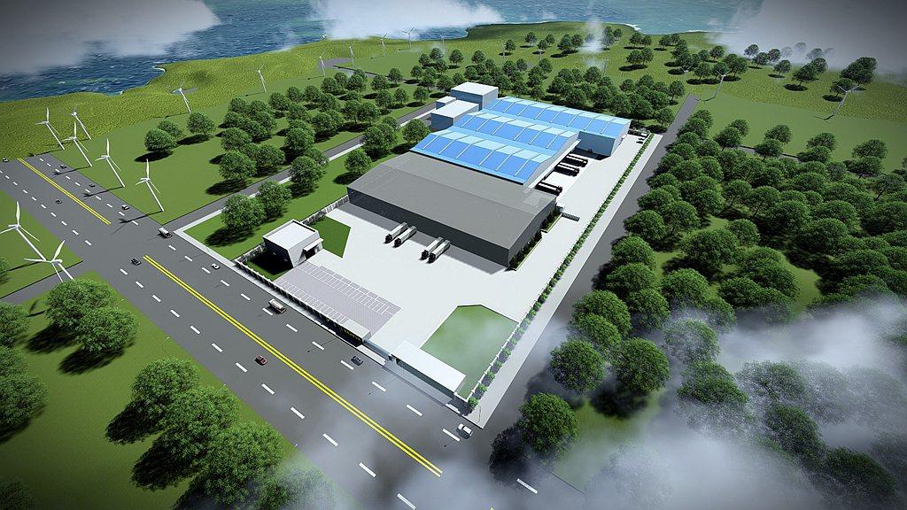 Mercedes-Benz原廠零件物流中心占地約14,000平方米(超過4,20...