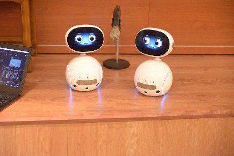 文藻外大文創學院將課程內容導入Zenbo Junior機器人,以協助英語學習者進...