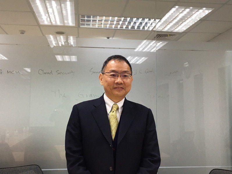 華邦電董事長焦佑鈞。報系資料照