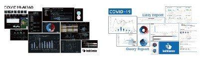 COVID-19資訊系統除了詳實記錄檢疫者的身體狀況,重點是以每日觀測資料彙整為...