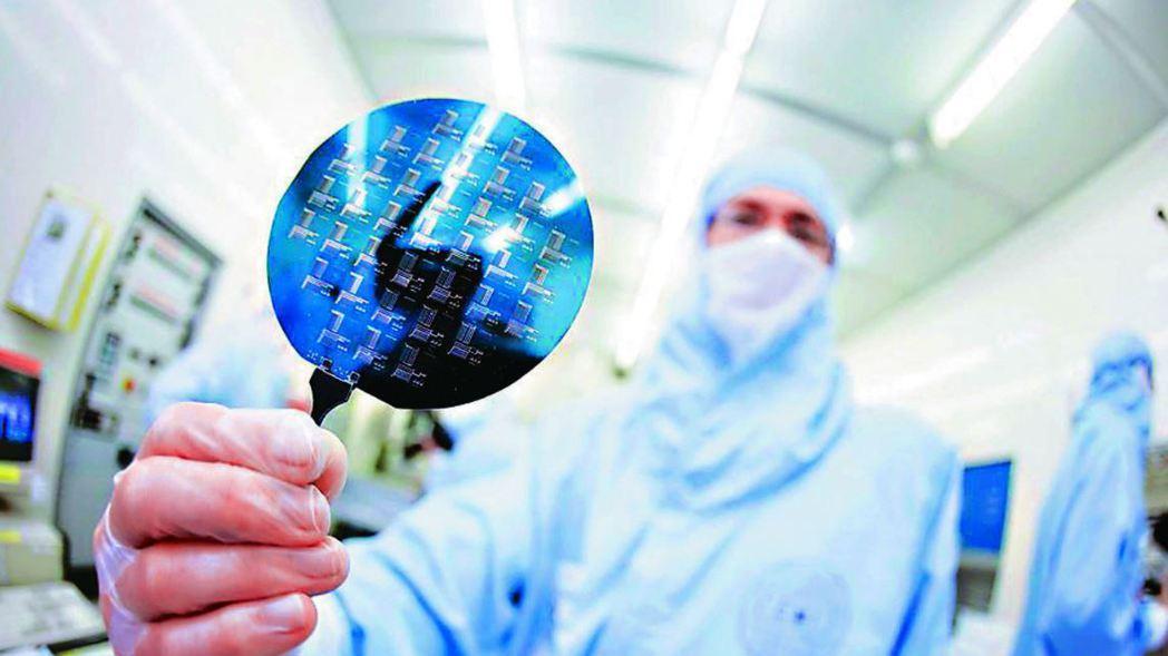 半導體產業,示意圖。 報系資料照