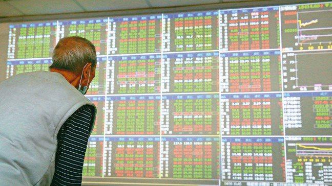 台北股市在16日波動高點後,已連續三個交易日收黑。 台股示意圖,報系資料照