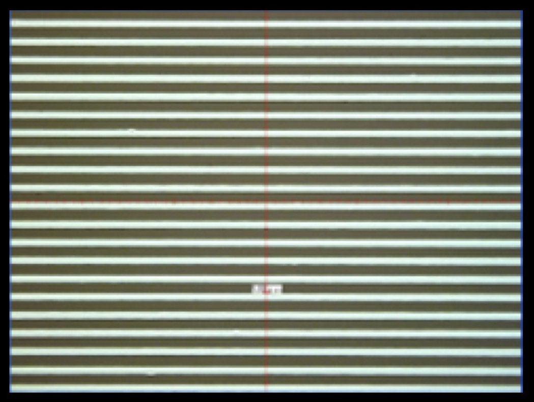 SIJ可對應1µm~50µm的超細線寬 ,上圖為實際噴塗狀況。