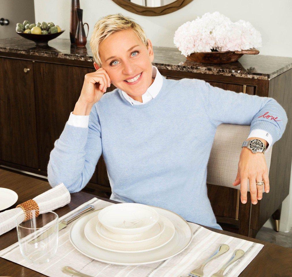 艾倫狄珍妮絲(Ellen DeGeneres)。圖/擷自臉書