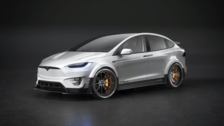 RevoZport把Tesla Model X改成胖版掀背車了!