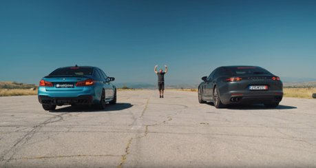 影/頂級房車之戰!Porsche Panamera Turbo vs. BMW M5 Competition