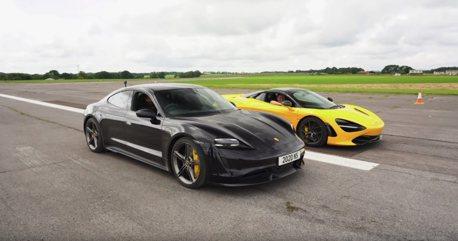 影/McLaren 720S會輸給一輛四驅電動房車嗎?
