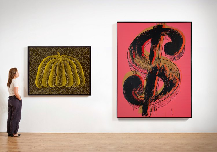 佳士得本季現代及當代藝術夜拍第二波焦點拍品:草間彌生的「A-PUMPKIN-SP...