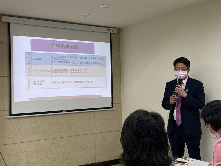 台灣乳房醫學會理事長曾令民表示,包含初經早、停經晚、未曾生育、30歲後才生第1胎...