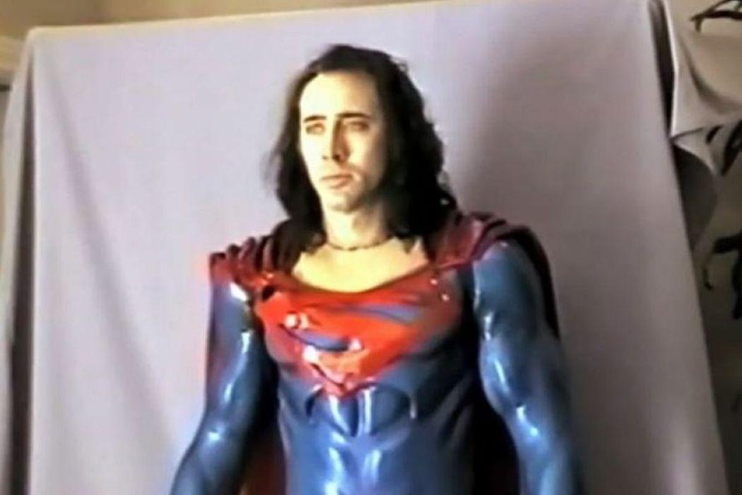 尼可拉斯凱吉的「超人」有機會正式登上大銀幕。圖/摘自YouTube