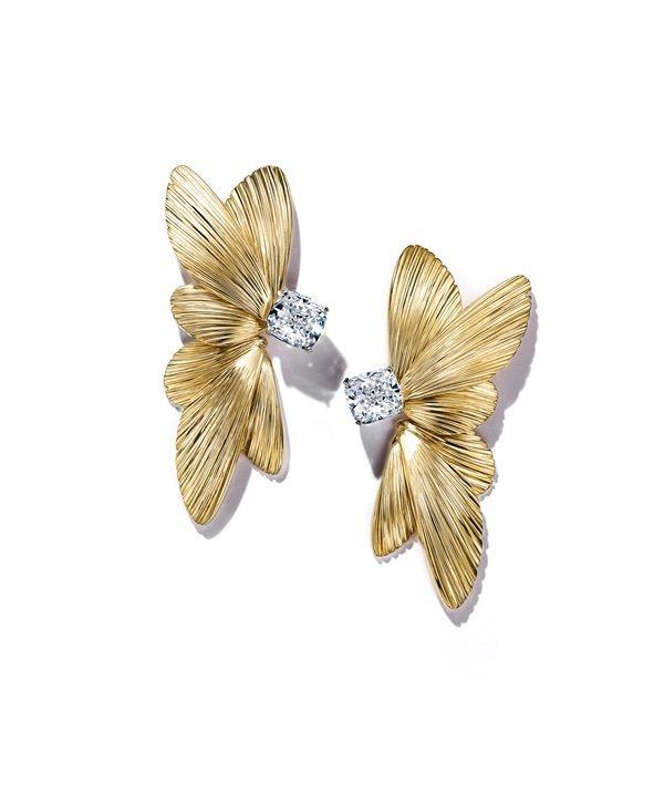 Tiffany Jewel Box高級珠寶系列Flight 18K金鑲嵌總重逾4...